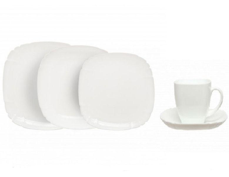 Столовый сервиз Luminarc Lotusia White на 6 персон 30 предметов
