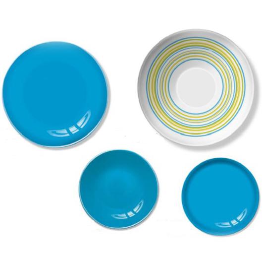 Столовый сервиз Luminarc Arty Azur на 6 персон 19 предметов