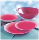 Столовый сервиз Luminarc Fizz Strawberry на 6 персон 19 предметов