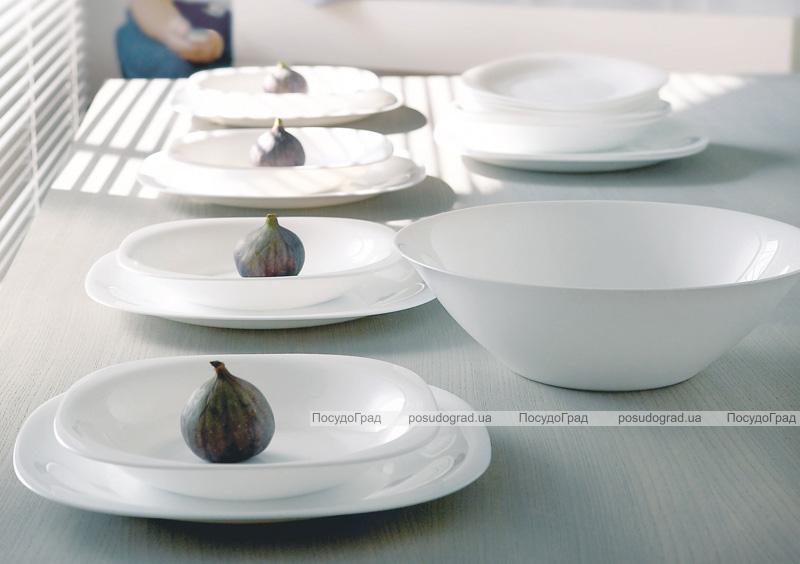 Набор 6 салатников Luminarc Carine White Ø27см