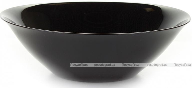 Набір 6 салатників Luminarc Carine Black Ø27см