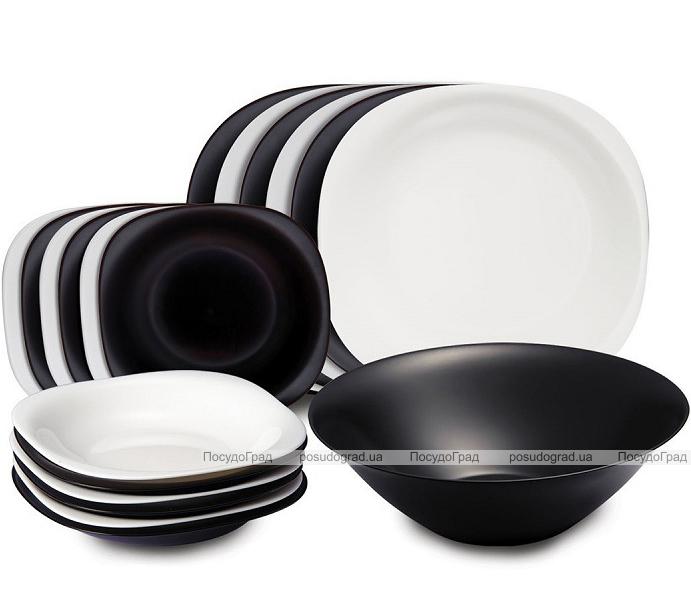 Столовый сервиз Luminarc Carine Black&White на 6 персон 19 предметов