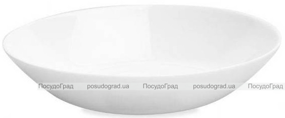 Набор 6 суповых тарелок Luminarc Diwali White Ø20.5см, стеклокерамика