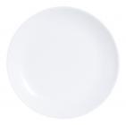 Набір 6 десертних тарілок Luminarc Diwali White Ø19см, склокераміка