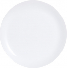Набор 6 подставных тарелок Luminarc Diwali White Ø27.3см, стеклокерамика