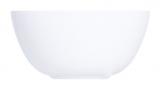 Набір 6 салатників Luminarc Diwali White Ø12см, склокераміка