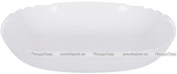 Набор 6 суповых тарелок Luminarc Lotusia White Ø20.5см, стеклокерамика