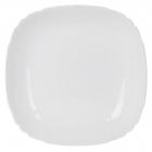 Набір 6 супових тарілок Luminarc Lotusia White Ø20.5см, склокераміка