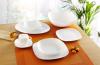 Набір 6 обідніх тарілок Luminarc Lotusia White Ø25.5см, склокераміка