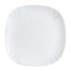 Набір 6 десертних тарілок Luminarc Lotusia White Ø21см, склокераміка