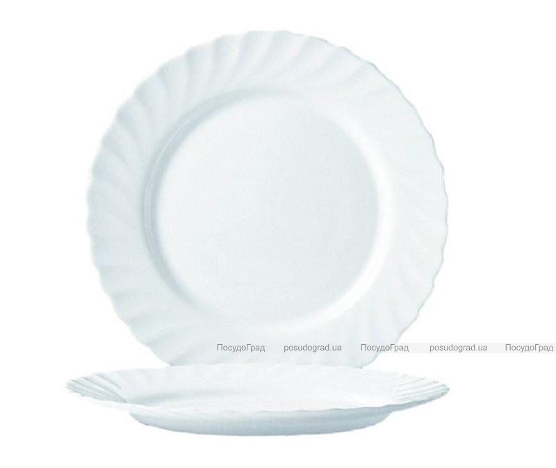 Набор 6 десертных тарелок Luminarc Trianon White Ø19,5см