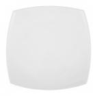 Набор 6 квадратных десертных тарелок Luminarc Quadrato White 19см, стеклокерамика
