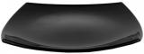 Набір 6 квадратних обідніх тарілок Luminarc Quadrato Black 26м, склокераміка