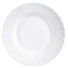 Набір 6 супових тарілок Luminarc Trianon White Ø22.5см, склокерамічні