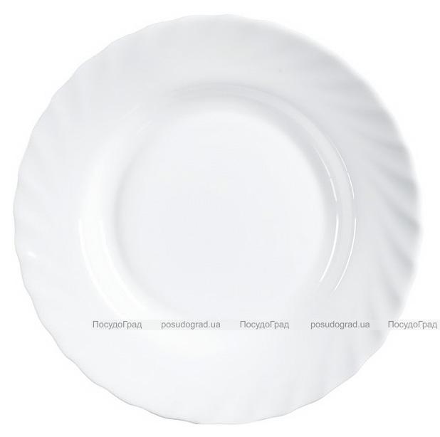 Набор 6 суповых тарелок Luminarc Trianon White Ø22.5см, стеклокерамические