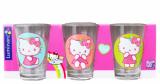 Набор 3 детских стакана Hello Kitty Nordic Flower 160мл