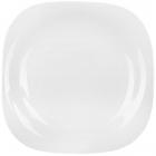 Набір 6 обідніх тарілок Luminarc Carine White, квадратні 26см