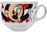 Кружка-бульонница Mickey Mouse стеклянная 400мл