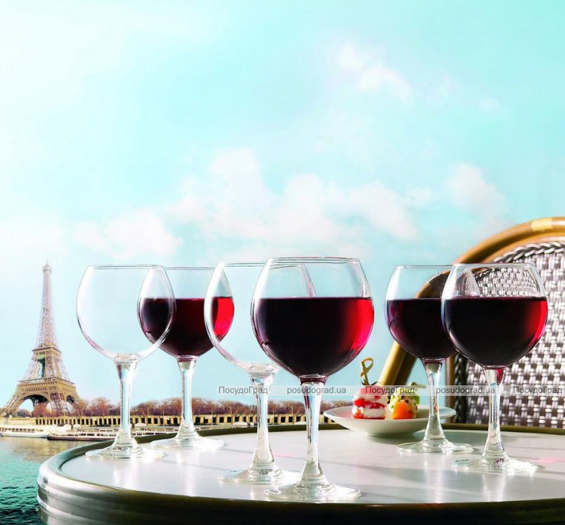 Набор 6 бокалов для вина Luminarc French Brasserie 210мл