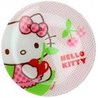 Тарелка десертная Luminarc Hello Kitty Cherries детская Ø20см