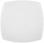 Набір 6 квадратних обідніх тарілок Luminarc Quadrato White 26м, склокераміка