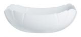 Набір 6 квадратних салатників Luminarc Lotusia White Ø15см, склокераміка