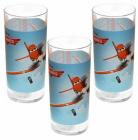 Набор 3 детских стакана Disney Planes Dusty 300мл