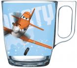 Кружка детская Luminarc Disney Planes Dusty стеклянная 250мл