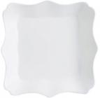 Набор 6 суповых тарелок Luminarc Authentic White, квадратные 22.5см