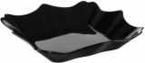 Набір 6 супових тарілок Luminarc Authentic Black, квадратні 22см