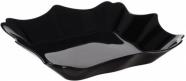 Набор 6 суповых тарелок Luminarc Authentic Black, квадратные 22см