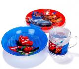 Детский набор Luminarc Disney Cars 3 предмета: пиала, кружка, тарелка