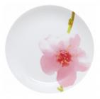 Набір 6 десертних тарілок Luminarc Water Color Ø19см, склокераміка