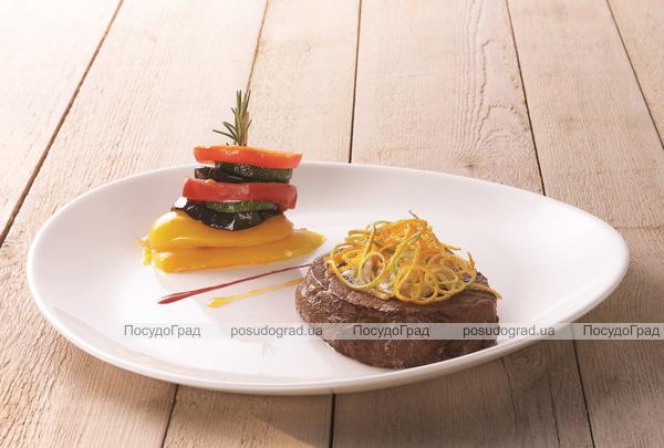 Набор 6 блюд для стейка Luminarc Friends Ø30см, стеклокерамика