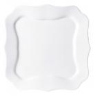 Набір 6 десертних тарілок Luminarc Authentic White, квадратні 20.5см