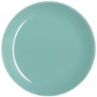 Набор 6 обеденных тарелок Luminarc Arty Soft Blue Ø26см, стекло