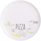 Набор 6 блюд для пиццы Luminarc Friends Bistrot Ø32см, стеклокерамика