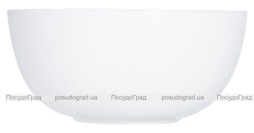 Набір 6 салатників Luminarc Diwali White Ø18см, склокераміка