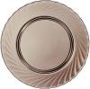 Набор 6 обеденных тарелок Luminarc Ocean Eclipse Ø24.2см, стекло