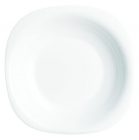 Набір 6 супових тарілок Luminarc Carine White, квадратні 23см