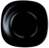 Набор 6 обеденных тарелок Luminarc Carine Black, квадратные 26см