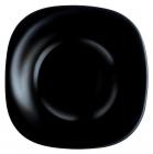 Набор 6 суповых тарелок Luminarc Carine Black, квадратные 21см