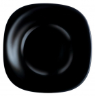 Набір 6 супових тарілок Luminarc Carine Black, квадратні 21см