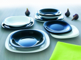 Столовый сервиз Luminarc Carine Black&White на 6 персон 18 предметов
