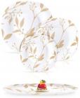 Столовый сервиз Luminarc Carine Etude Gold на 6 персон 19 предметов