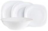 Столовий набір Luminarc Carine White 19 предметів на 6 персон