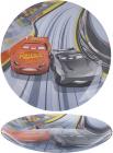 Тарілка десертна Luminarc Disney Cars-ІІІ Ø20см скляна