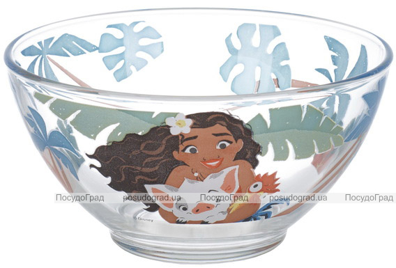 Пиала детская Luminarc Disney Vaiana 500мл стеклянная