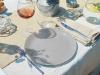 Набір 6 обідніх тарілок Luminarc Arty Brume Ø26см, скло