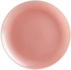 Набор 6 обеденных тарелок Luminarc Arty Blush Ø26см, стекло